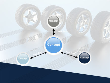 Tires On Wheels PowerPoint Template Slide 14