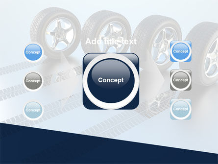 Tires On Wheels PowerPoint Template Slide 17
