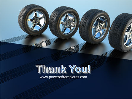 Tires On Wheels PowerPoint Template Slide 20