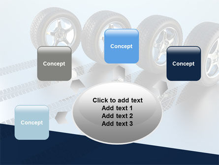Tires On Wheels PowerPoint Template Slide 7