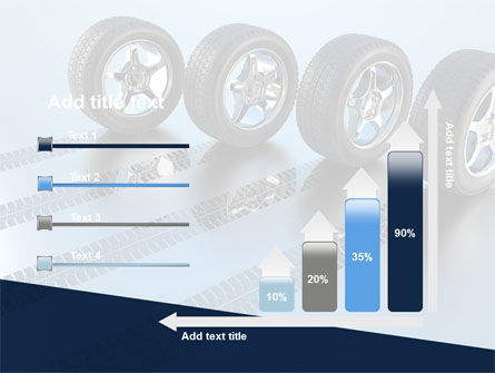 Tires On Wheels PowerPoint Template Slide 8