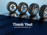 Tires On Wheels PowerPoint Template#20