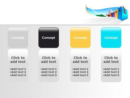 Office Data PowerPoint Template Slide 5