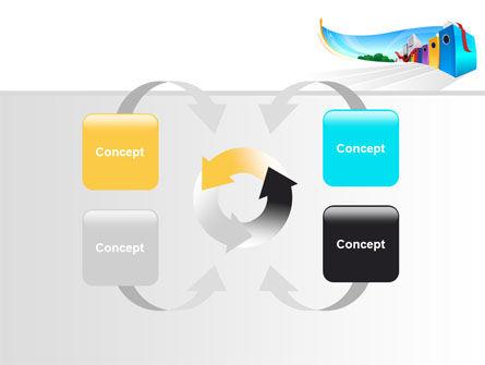 Office Data PowerPoint Template Slide 6