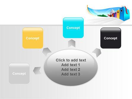 Office Data PowerPoint Template Slide 7