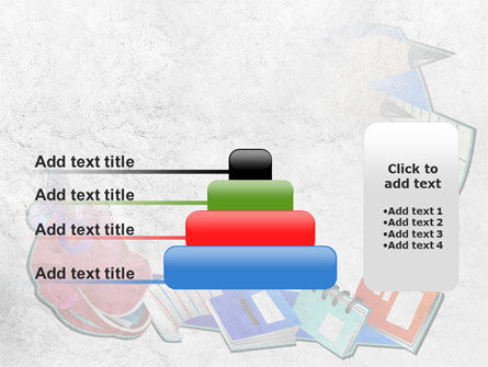 Stationery PowerPoint Template Slide 8