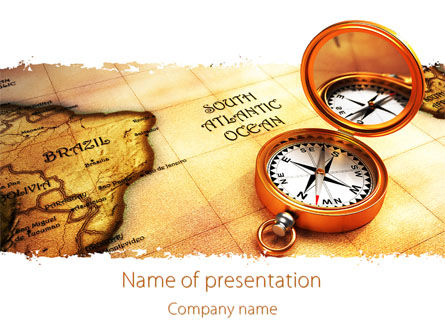 South Atlantics PowerPoint Template, 08151, Careers/Industry — PoweredTemplate.com