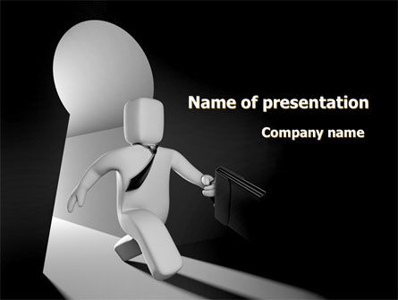 Consulting: Financial Way Out PowerPoint Template #08152