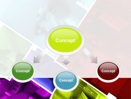 Room Planning PowerPoint Template, Slide 4, 08153, Construction — PoweredTemplate.com
