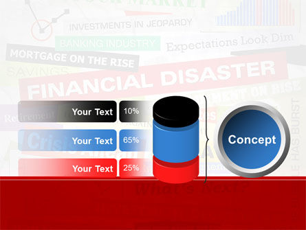 Financial Disaster PowerPoint Template Slide 11