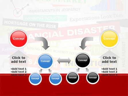 Financial Disaster PowerPoint Template Slide 19