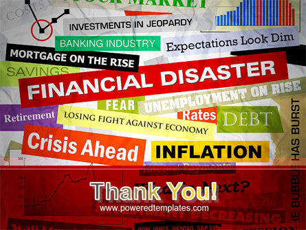 Financial Disaster PowerPoint Template Slide 20