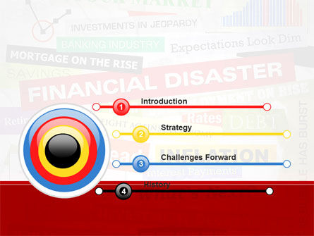 Financial Disaster PowerPoint Template Slide 3
