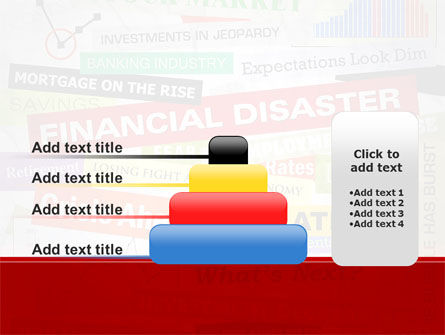Financial Disaster PowerPoint Template Slide 8