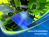 Utilities/Industrial: Mechanic Industry PowerPoint Template #08155