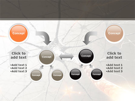 Neurons Networks PowerPoint Template Slide 19