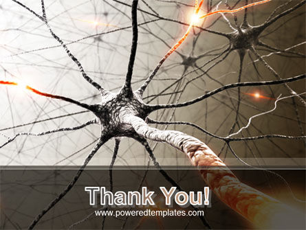 Neurons Networks PowerPoint Template Slide 20