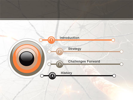 Neurons Networks PowerPoint Template, Slide 3, 08156, Medical — PoweredTemplate.com