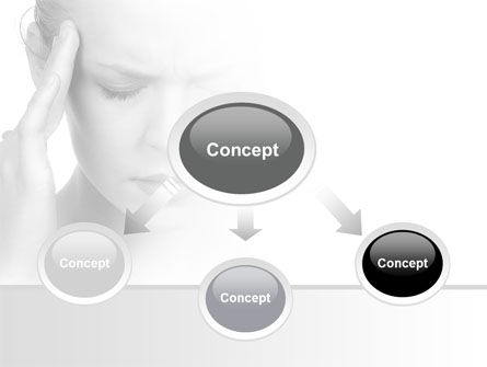 Migraine PowerPoint Template, Slide 4, 08158, Medical — PoweredTemplate.com
