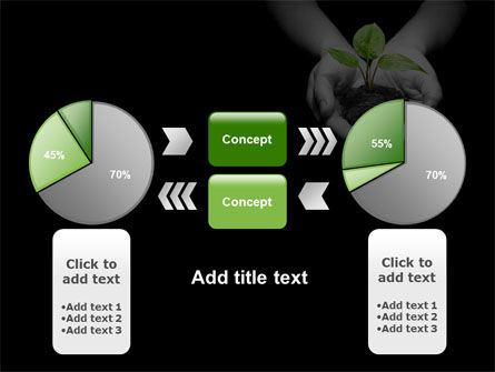 Sprout In Hands PowerPoint Template Slide 11