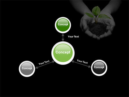 Sprout In Hands PowerPoint Template Slide 14