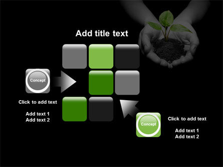 Sprout In Hands PowerPoint Template Slide 16