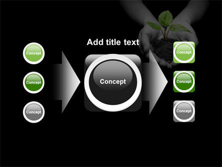 Sprout In Hands PowerPoint Template Slide 17