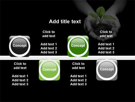 Sprout In Hands PowerPoint Template Slide 19