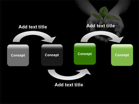 Sprout In Hands PowerPoint Template Slide 4