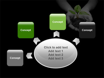 Sprout In Hands PowerPoint Template Slide 7