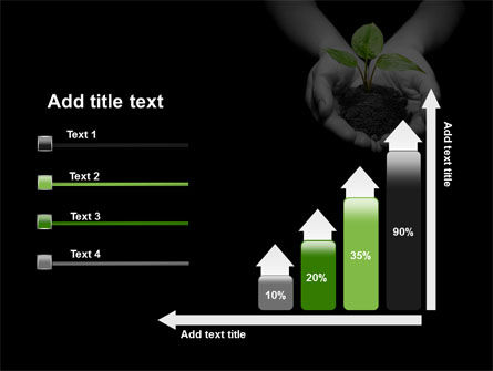 Sprout In Hands PowerPoint Template Slide 8