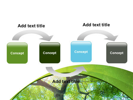 Tree Top PowerPoint Template, Slide 4, 08163, Nature & Environment — PoweredTemplate.com