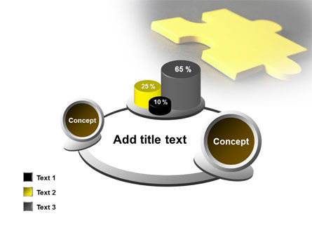 Free Yellow Jigsaw On A Dark Gray Surface PowerPoint Template Slide 16