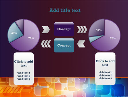 Color Collage PowerPoint Template Slide 11