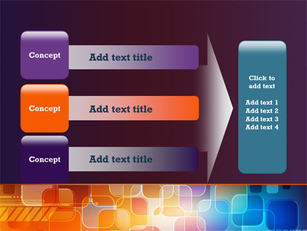 Color Collage PowerPoint Template Slide 12