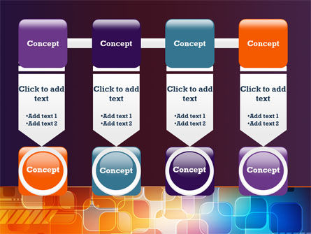 Color Collage PowerPoint Template Slide 18