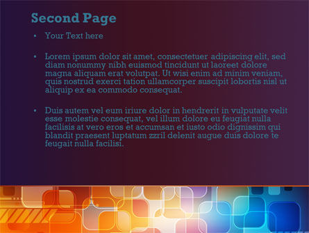 Color Collage PowerPoint Template Slide 2