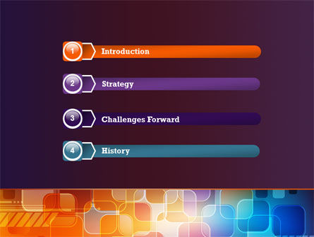 Color Collage PowerPoint Template Slide 3