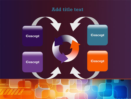 Color Collage PowerPoint Template Slide 6