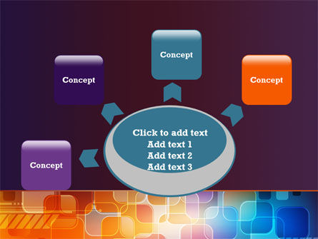 Color Collage PowerPoint Template Slide 7
