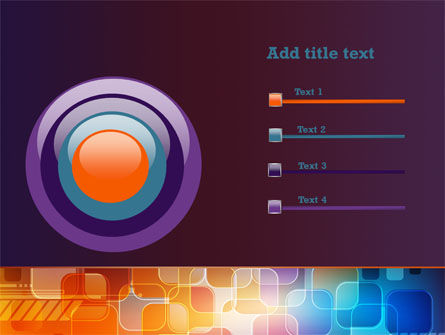 Color Collage PowerPoint Template Slide 9