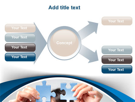 Folding Puzzle PowerPoint Template Slide 15