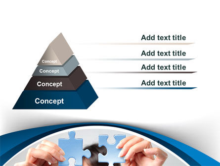 Folding Puzzle PowerPoint Template Slide 4
