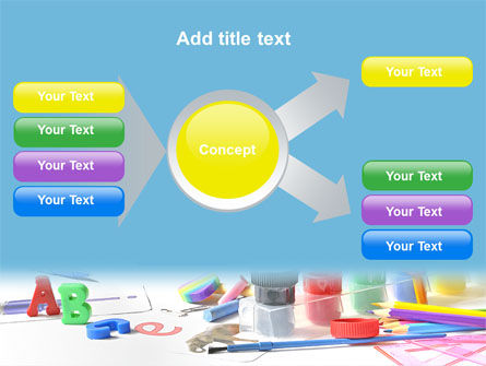 Children's Stationery PowerPoint Template Slide 14