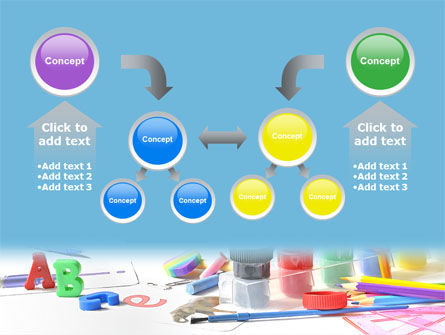Children's Stationery PowerPoint Template Slide 19