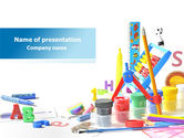 Education & Training: Children's Stationery PowerPoint Template #08170