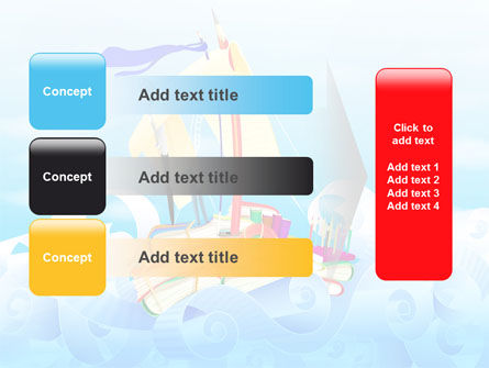 Stationery Ship PowerPoint Template Slide 12