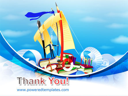 Stationery Ship PowerPoint Template Slide 20