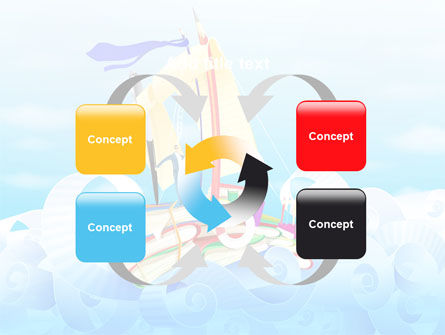 Stationery Ship PowerPoint Template Slide 6