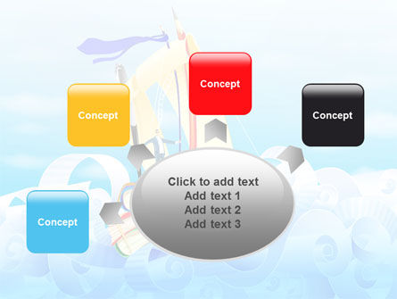 Stationery Ship PowerPoint Template Slide 7